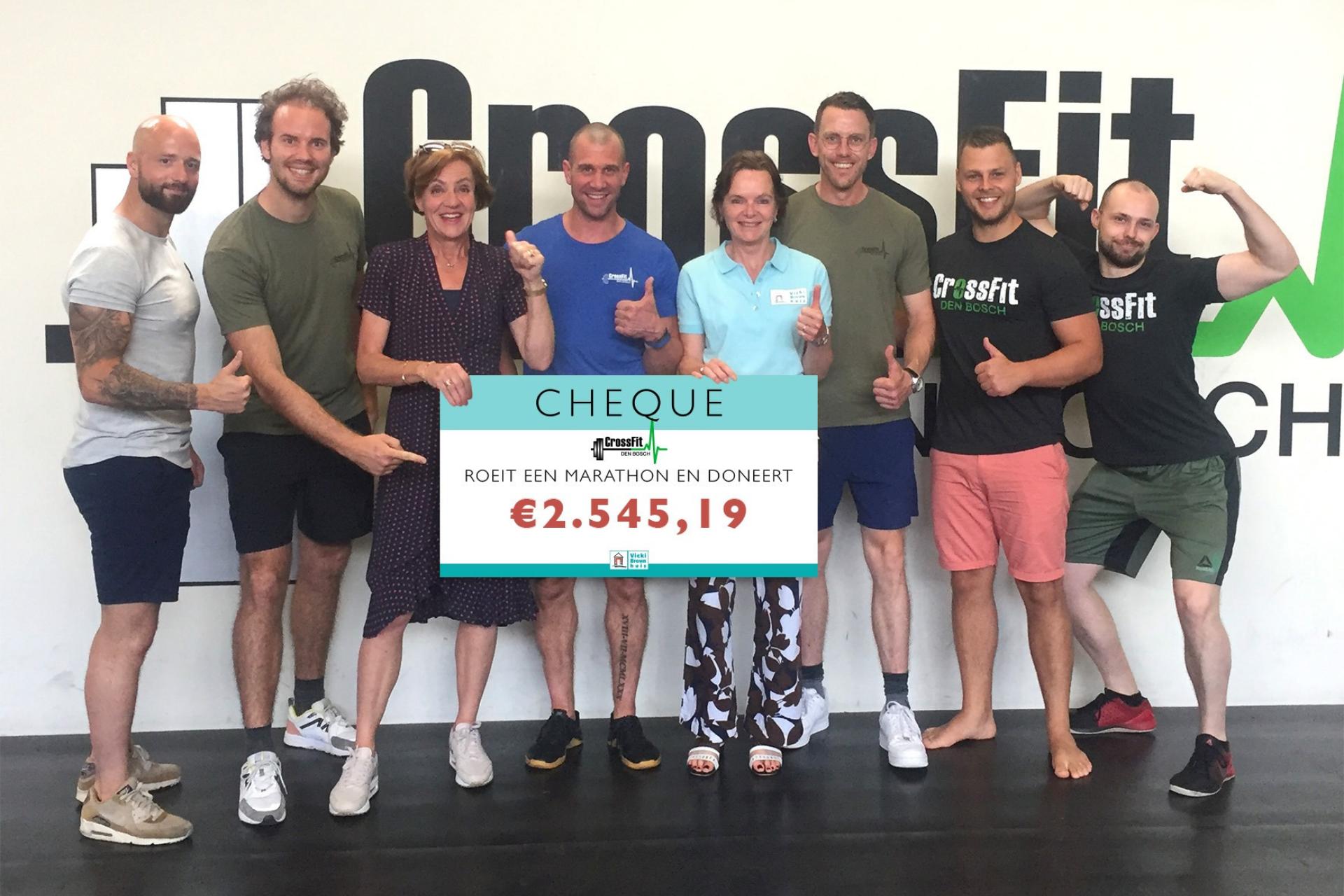 CrossFit Den Bosch roeiactie