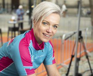 Ilse Moerings - spinningmarathon