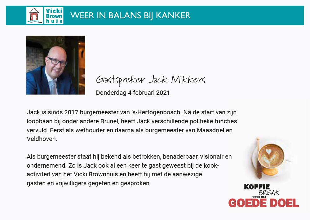 Gastspreker_Jack Mikkers KoffieBreak Vicki Borwnhuis