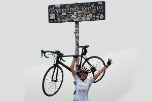 Mont Ventoux Wielrenactie Vicki Brownhuis