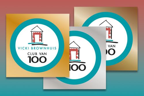 Club van 100 Vicki Brownhuis keuzes